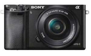 Sony Alpha A6000 Mirrorless Digital SLR Camera