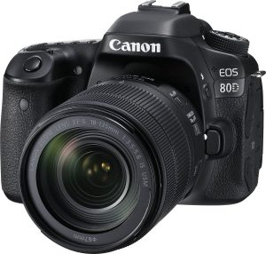 Canon EOS 80D Camera with Nano Motor