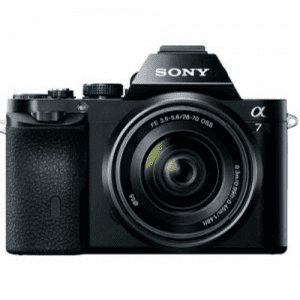Sony A7 Best Mirrorless Cameras Under $1000