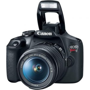 Canon EOS Rebel T7 24MP Camera + EF-S 18-55mm is II Lens (Successor for EOS Rebel T6)