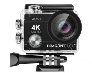 Dragon Touch 4K Action Camera Vision 3