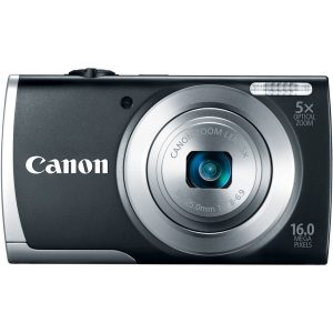 Canon PowerShot A2500 16MP Digital Camera with 5x Optical Image Stabilized Zoom with 2.7-Inch LCD
