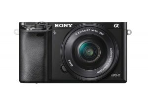 Sony Alpha a6000 Mirrorless Digital Camera 24.3MP SLR Camera with 3.0-Inch LCD (Black) w 16-50mm Power Zoom Lens