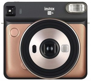 Fujifilm Instax Square-SQ6-Instant Blush Gold Film Camera