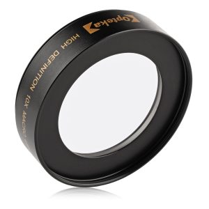 Opteka Achromatic 10x Diopter Macro Lens for Nikon (Fits 52mm and 67mm Threaded Lenses)