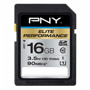 PNY Elite Performance SDHC Card