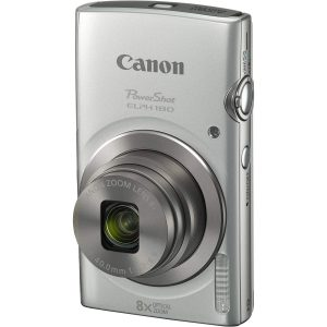 Canon PowerShot ELPH 180 20MP 8X Zoom Digital Camera