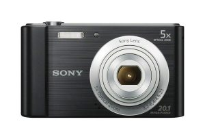 Sony DSCW800 20.1 MP Digital Camera (Black)