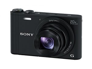 Sony DSCWX350 18 MP Digital Camera (Black)