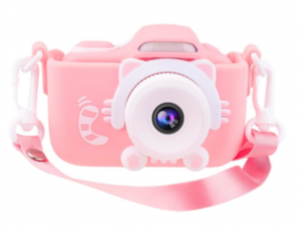 Joytrip Kids Camera for Girls Gifts 16.0MP HD 2.0 Inches Screen Kids Video Camera Anti-Drop Children Selfie Toy Camera Mini Child Camcorder for 3-14-Year-Old with Soft Silicone Case (Pink-No SD Card)