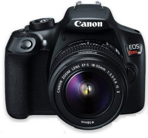 Canon EOS Rebel T6 DSLR Camera with 18-55mm IS II Lens Bundle
