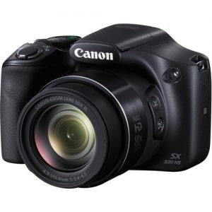 Canon PowerShot SX530 HS Digital Camera with 50x Optical Image Stabilized Zoom with 3-Inch LCD HD 1080p Video (Black)