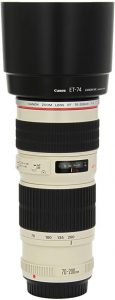 Canon EF USM Telephoto Zoom Lens For Canon SLR Cameras
