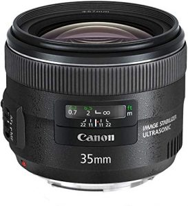 Canon EF Wide Angle Lens