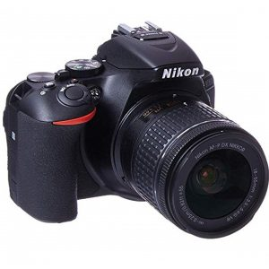 Nikon D5600 DSLR with 18-55mm f3.5-5.6G VR and 70-300mm f4.5-6.3G ED