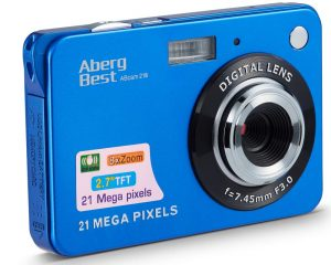 AbergBest Rechargeable HD Digital Camera