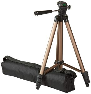 AmazonBasics Lightweight Camera Mount Tripod Stand With Bag