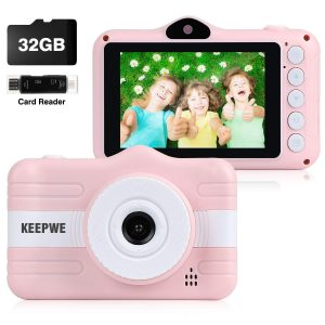 Kids Camera, Digital Camera For Kids Gifts, Camera For Kids 3-10-year-old