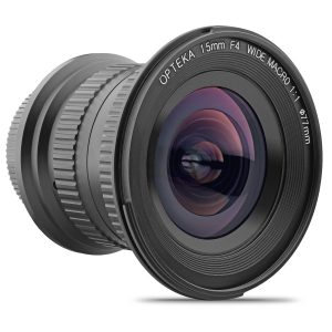 Opteka 15mm F 4 LD UNC AL 1 1 Macro Wide Angle Full Frame Lens For Nikon