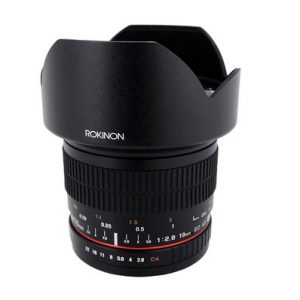 Rokinon 10mm F2.8 Ed As Ncs Cs Ultra Wide Angle Lens For Nikon