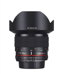 Rokinon 14mm F 2.8 If Ed Umc Ultra Wide Angle Fixed Lens W Built-in Ae Chip For Nikon