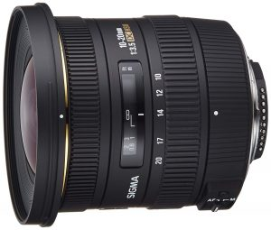 Sigma 10-20mm F3.5 EX DC HSM ELD SLD Aspherical Super Wide Angle Lens For Nikon