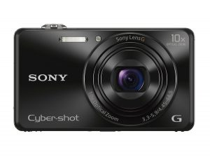 Sony DSCWX220 B Digital Camera With 2.7inch LCD Black