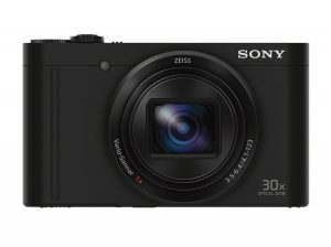 Sony DSCWX500 B Digital Camera With 3-inch LCD Screen
