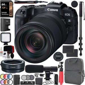 Canon EOS RP Full-Frame Mirrorless Digital Camera Body With RF 24-240mm