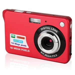 Gordve Digital Camera 2.7inches Hd Camera For Backpacking Rechargeable Mini Camera
