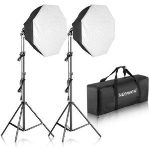 Neewer 700W Octagon Softbox Continuous Lighting Kit